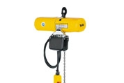 Electric chain hoist model CPS with suspension hook
