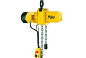 Electric chain hoist model CPE with suspension hook or with integrated trolley