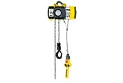 Electric chain hoist model YaleVego with suspension lug or with integrated trolley