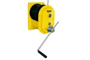 Manual wire rope winch with worm gear drive model MWS