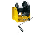 Manual wire rope winch with worm gear drive model MWW