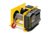 Electric wire rope winch model RPE