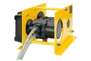 Pneumatic wire rope winch model RPA